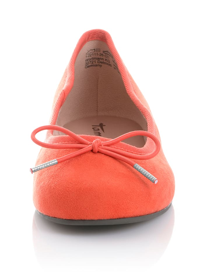 Ballerina aus weichem Textil
