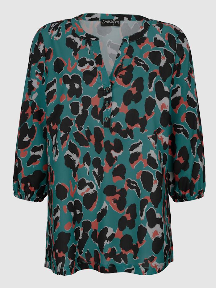 Leopardikuvioitu pusero