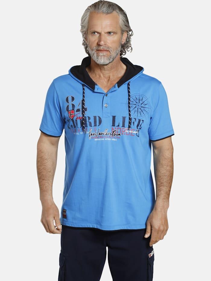 Jan Vanderstorm Jan Vanderstorm T-Shirt KELD, blau