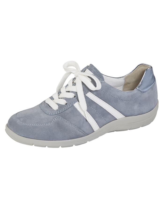 Naturläufer Derbies avec semelle de marche à coussin d'air, Bleu