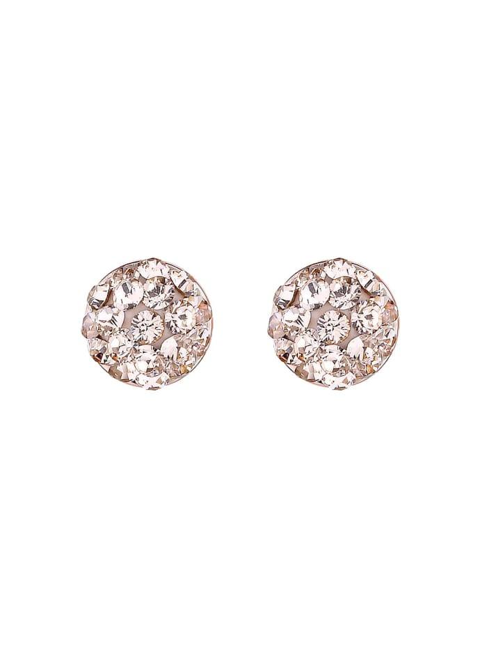 Ohrringe Basic Kristalle Filigran 925 Silber