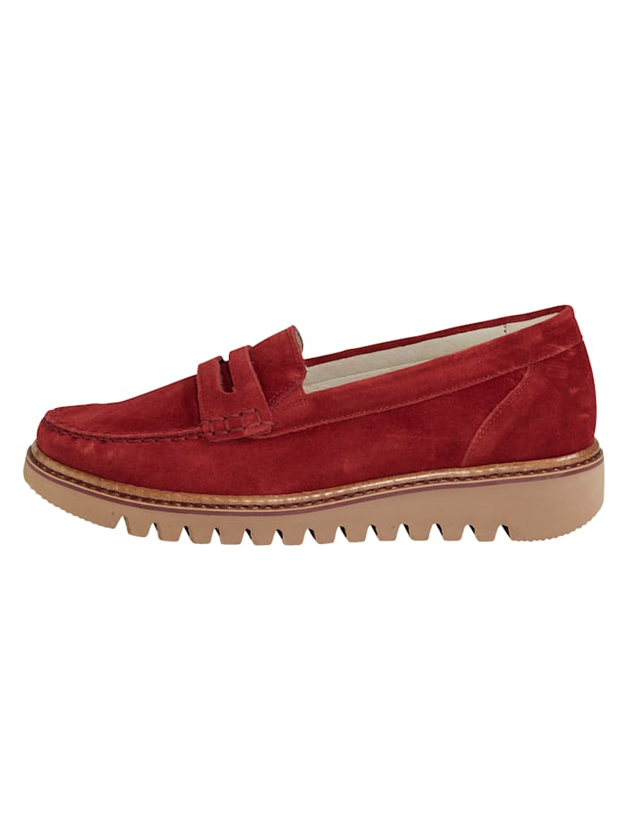 Moccasins with an EVA sole