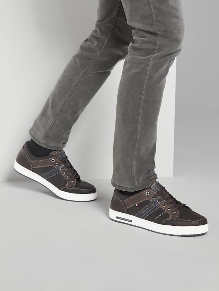 Tom Tailor Sneaker aus Kunstleder, brown
