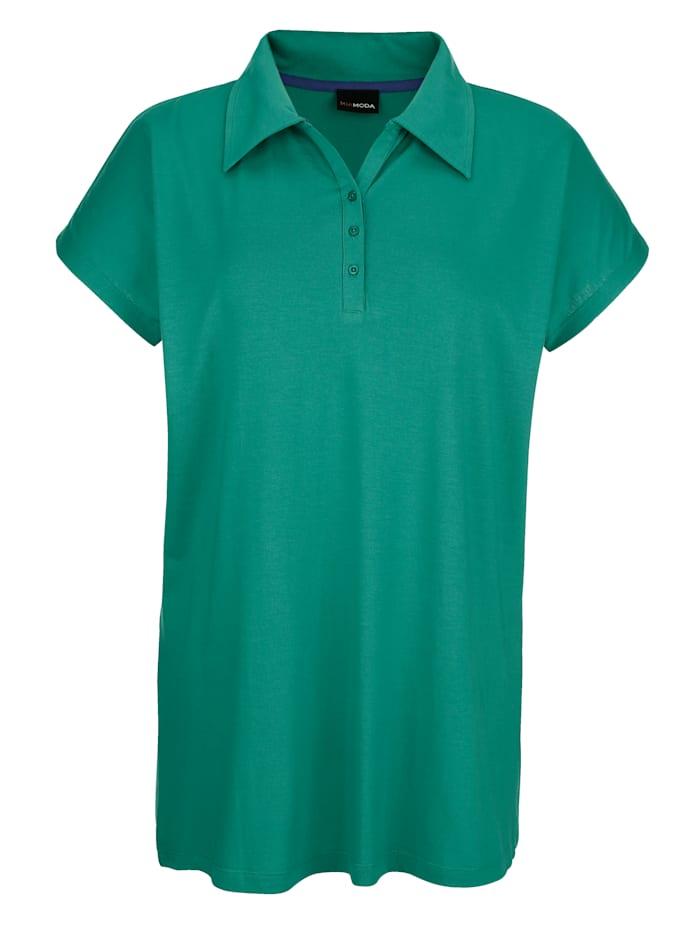 MIAMODA Poloshirt klassisch geschnitten, Grün