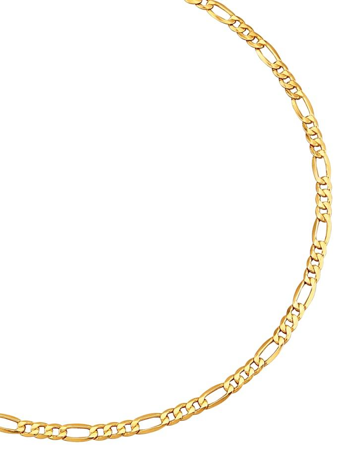 Diemer Gold Figarokette in Gelbgold 585, Gelb
