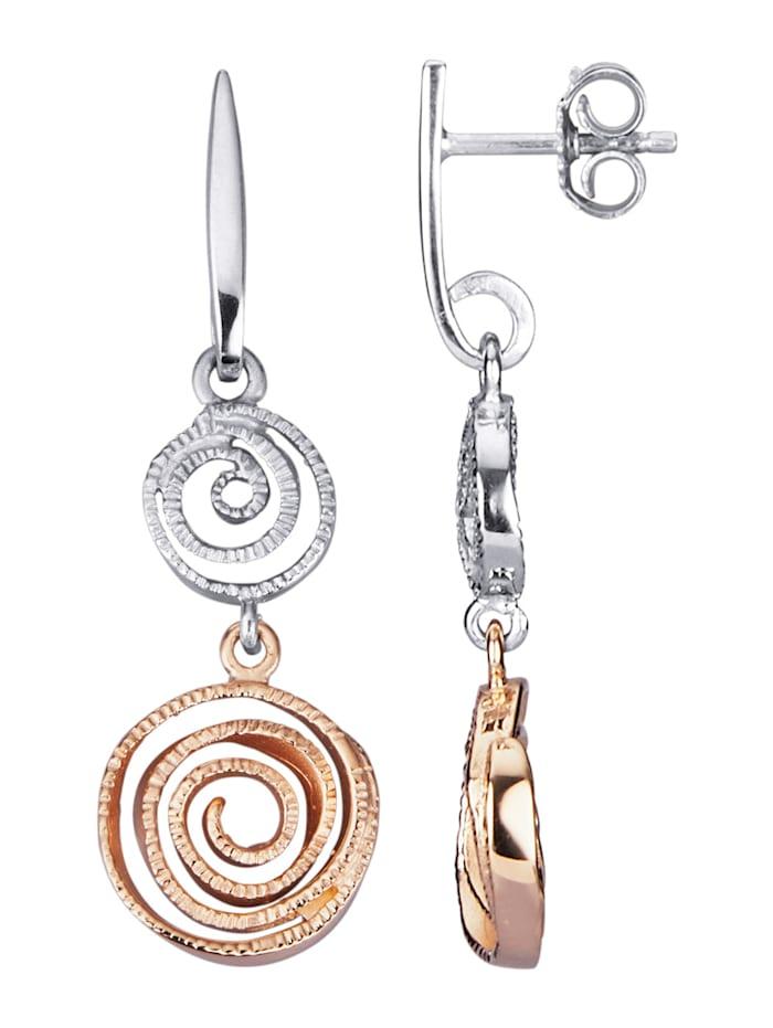 Diemer Silber Ohrringe in Silber 925, Silberfarben