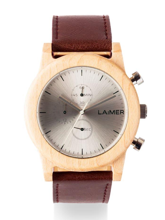 Laimer Herrenuhr-Chronograph 0058 Laimer Peter, Hellbraun