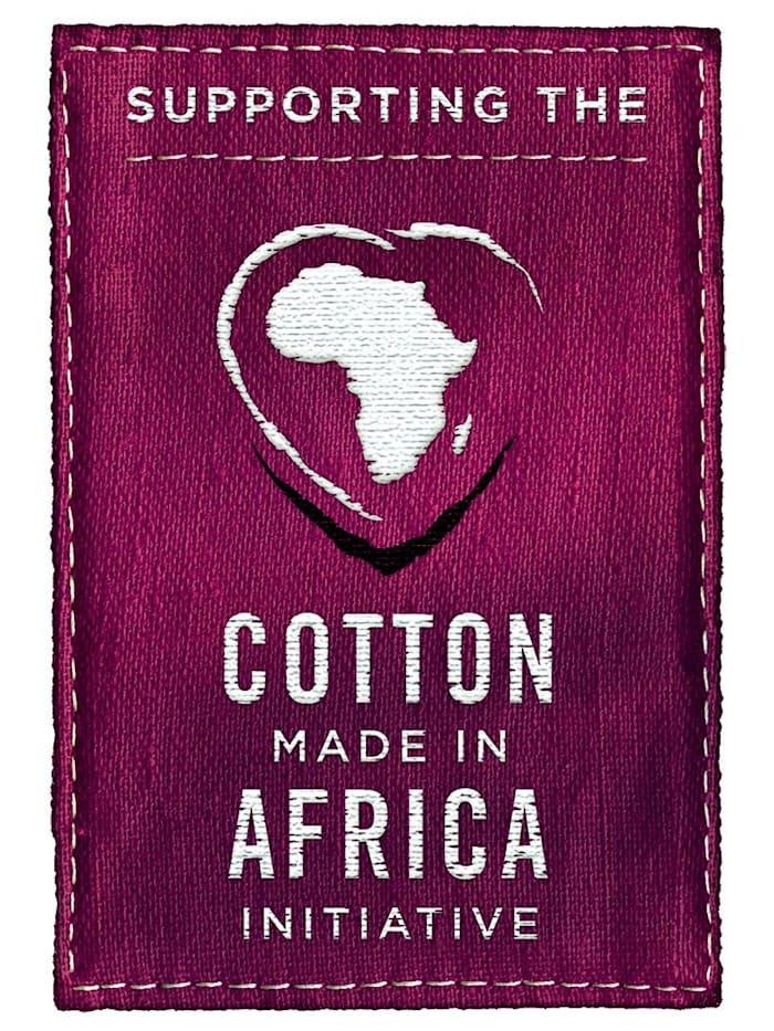 Fritidsdress i bomull från Cotton made in Africa-programmet