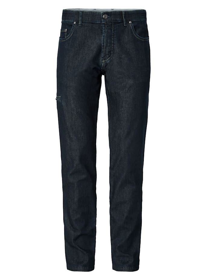 BABISTA Fahrrad-Jeans mit Reflektorband, Dunkelblau