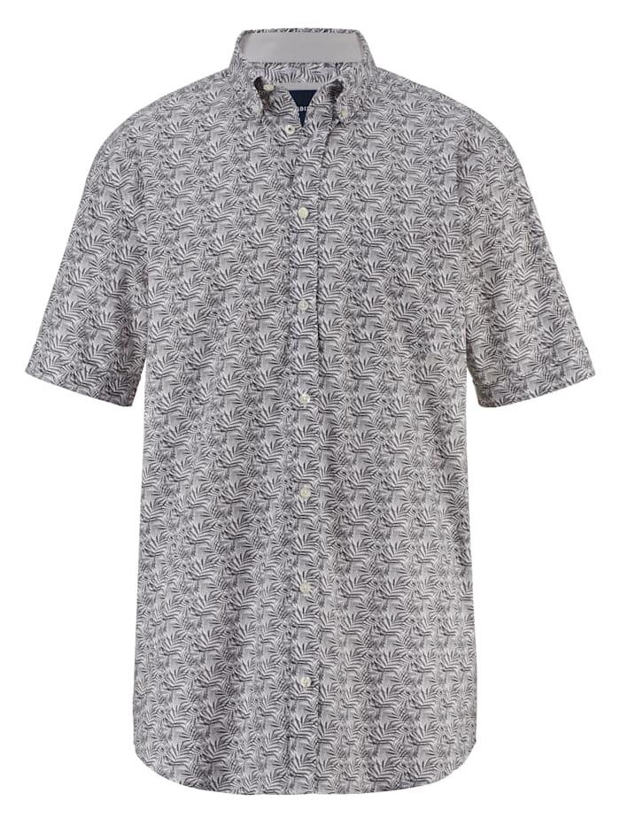 BABISTA Skjorta med bröstficka, Vit/Grå