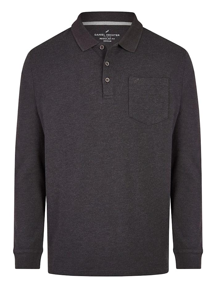 Daniel Hechter Essential Polo-Shirt, graphite