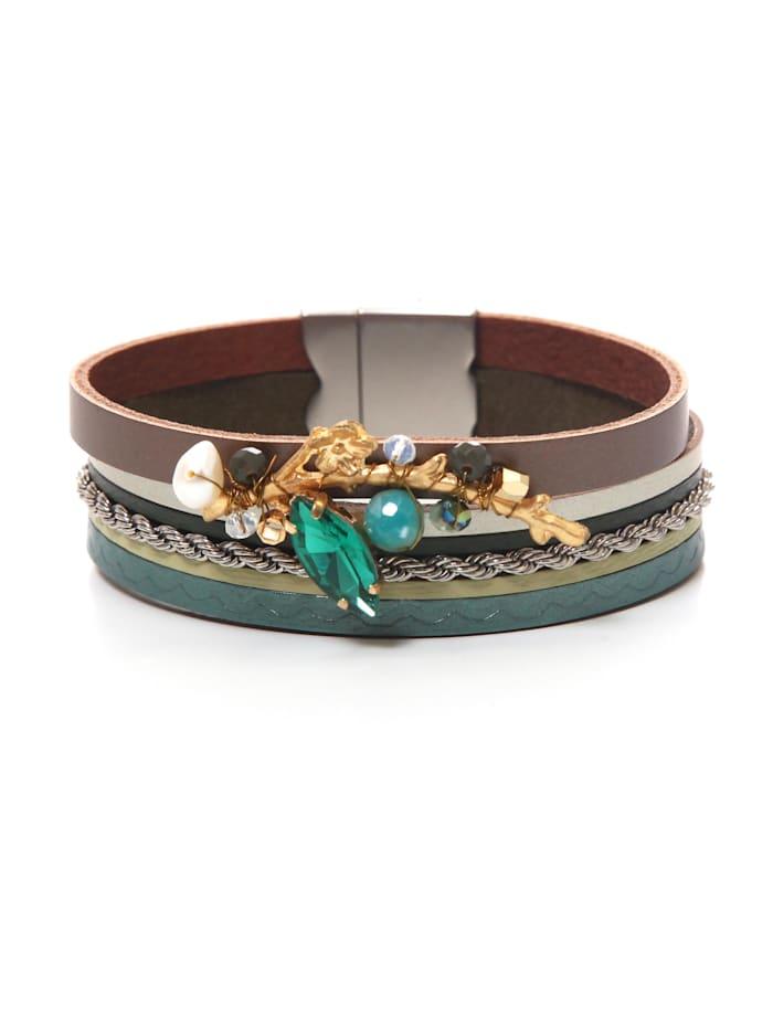 Collezione Alessandro Armband Kaya, emerald