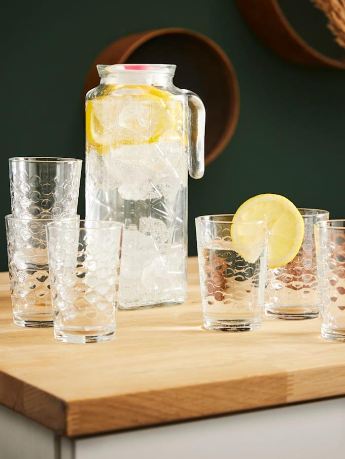 Ensemble de 7 verres + carafe