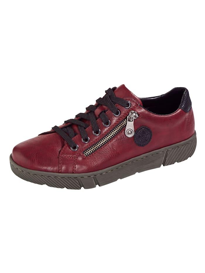 Rieker Rieker-skor med utbytbar innersula, Bordeaux
