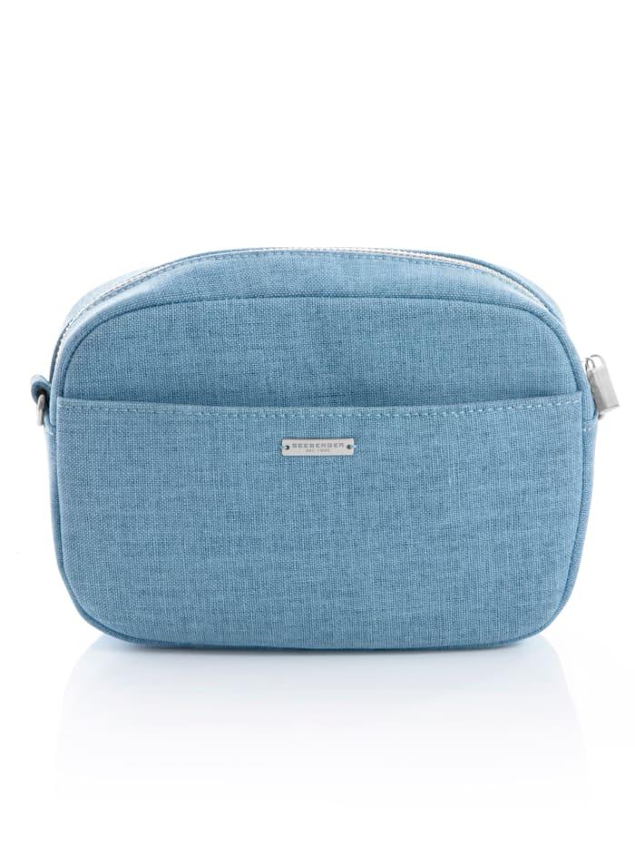 Seeberger Tasche in 2 Varianten tragbar, Blau