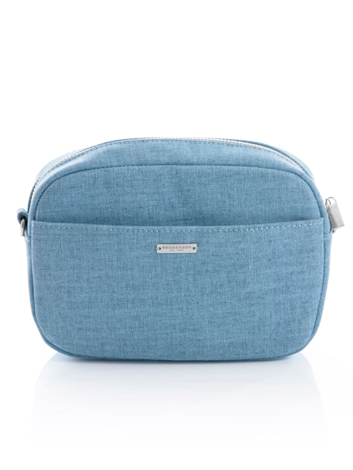 Seeberger Väska som kan bäras på olika sätt, Blå