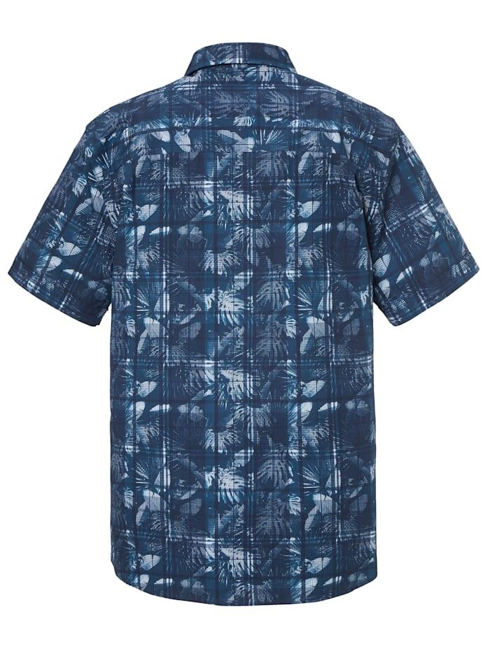 Skjorta med blommönster