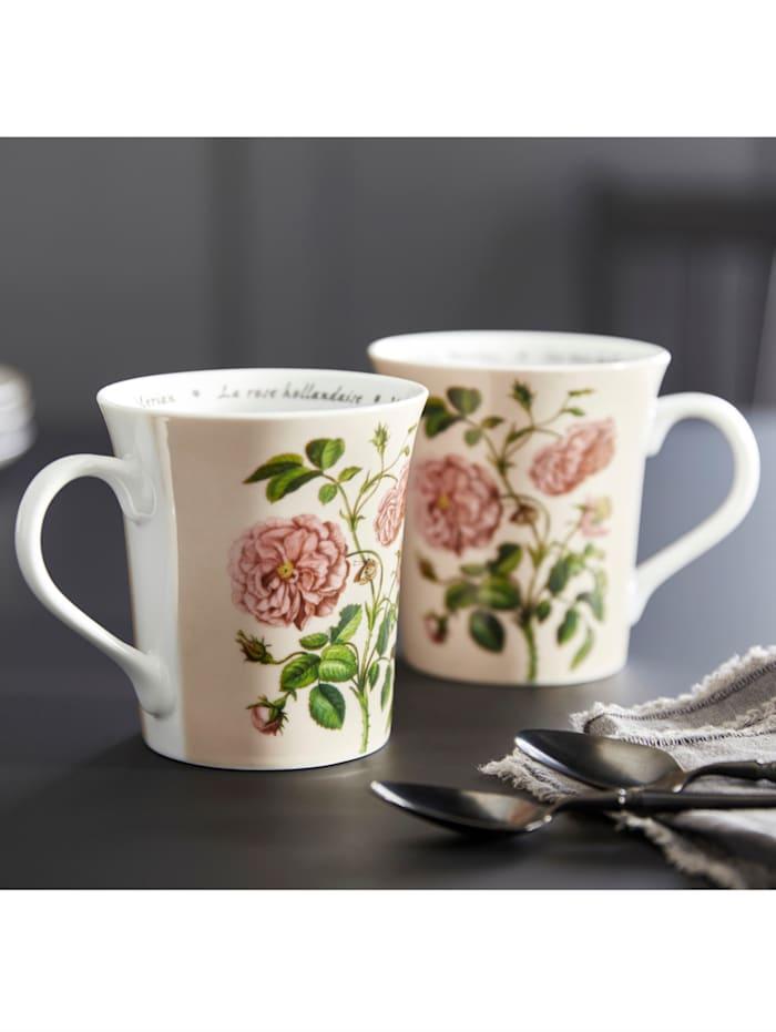 "Lot de 2 mugs ""Les Fleurs Merian"""