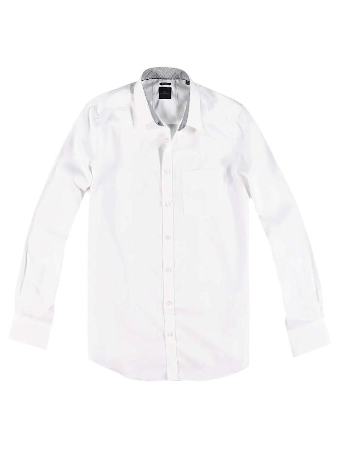 Engbers Qualitatives Hemd aus der My Favorite Kollektion, Reinweiss