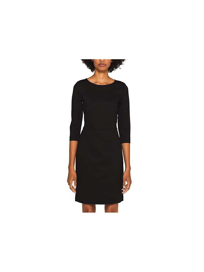 Esprit Jerseykleider, schwarz