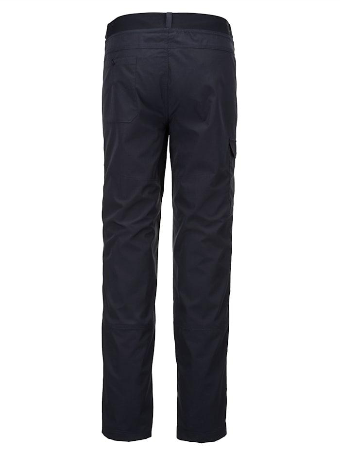 Trekkinghose mit einer aufgesetzten Tasche am Bein