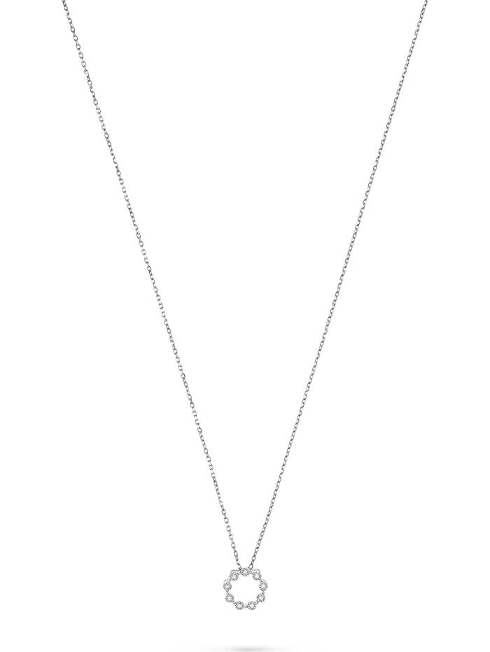 CHRIST C-Collection CHRIST Damen-Kette 375er Weißgold 9 Diamant, weißgold