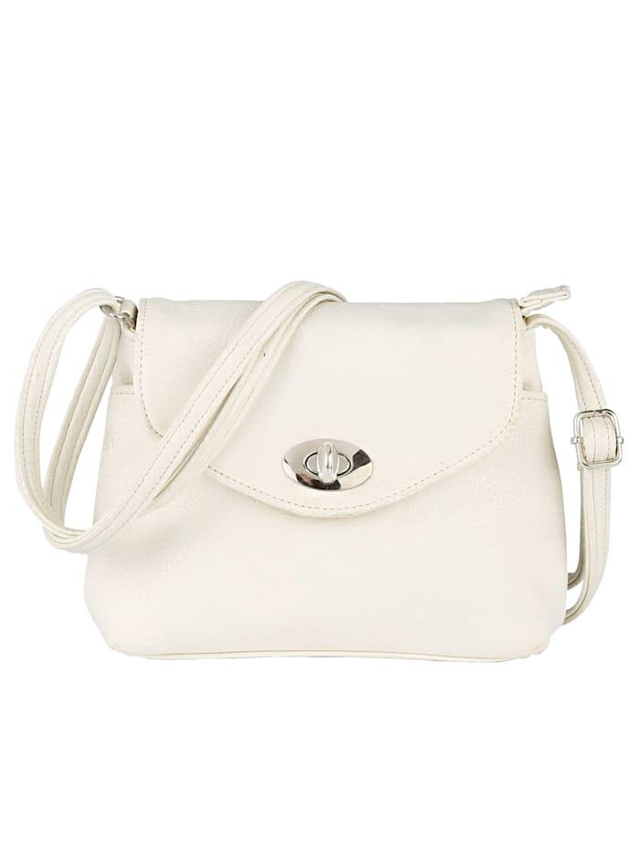 Aimée Shoulder bag in an elegant design, White