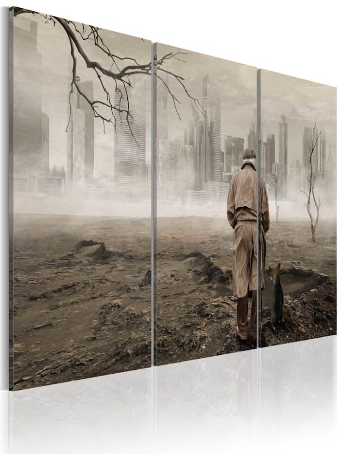 artgeist Wandbild Self-reflection, Beige,Braun