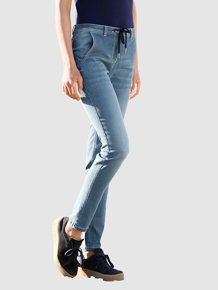 Dress In Jeans in boyfriend-stijl, Blauw