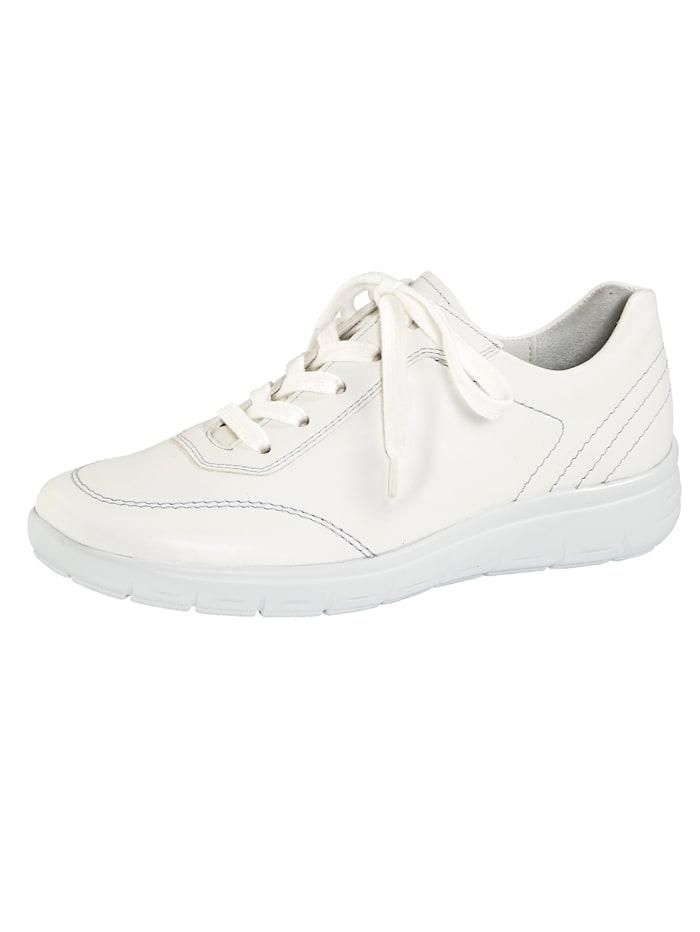 Vamos Šněrovací obuv s tlumením nárazů, Bílá