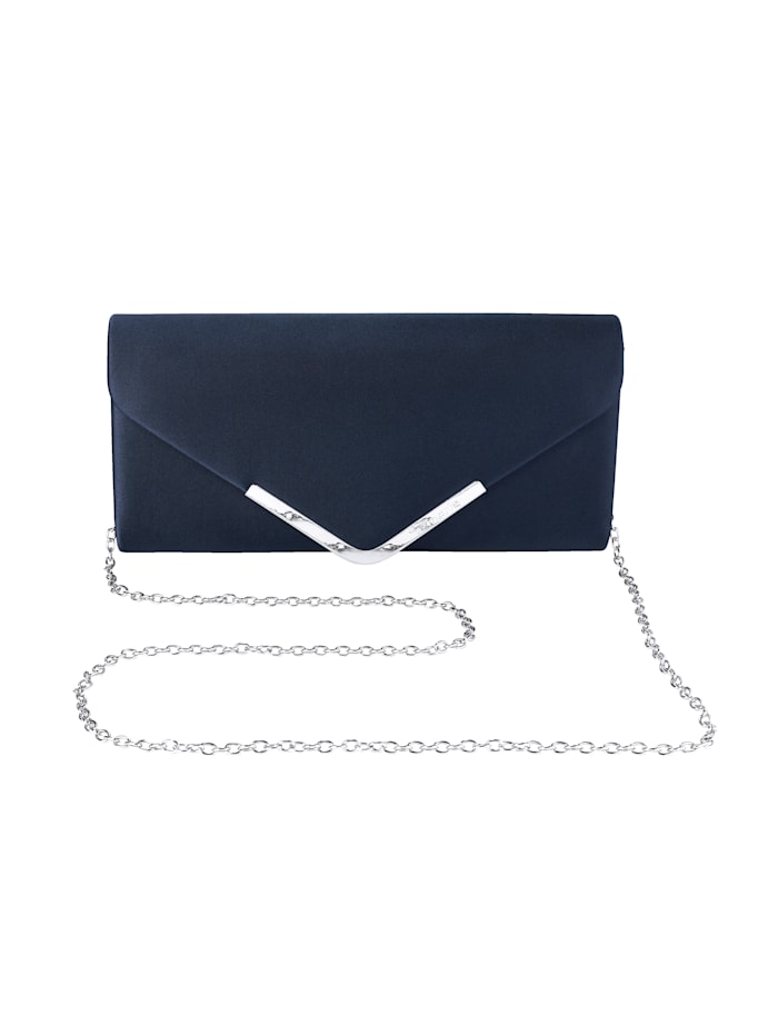 Tamaris Clutch in eleganter Form, marine