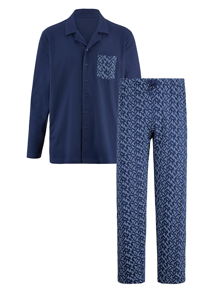 BABISTA Pyjama, Marine/Bleu ciel