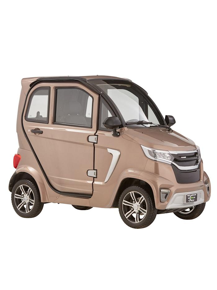 Didi Thurau Edition 4-Rad eLazzy Premium 45 km/h mit Vor-Ort-Einweisung, silber