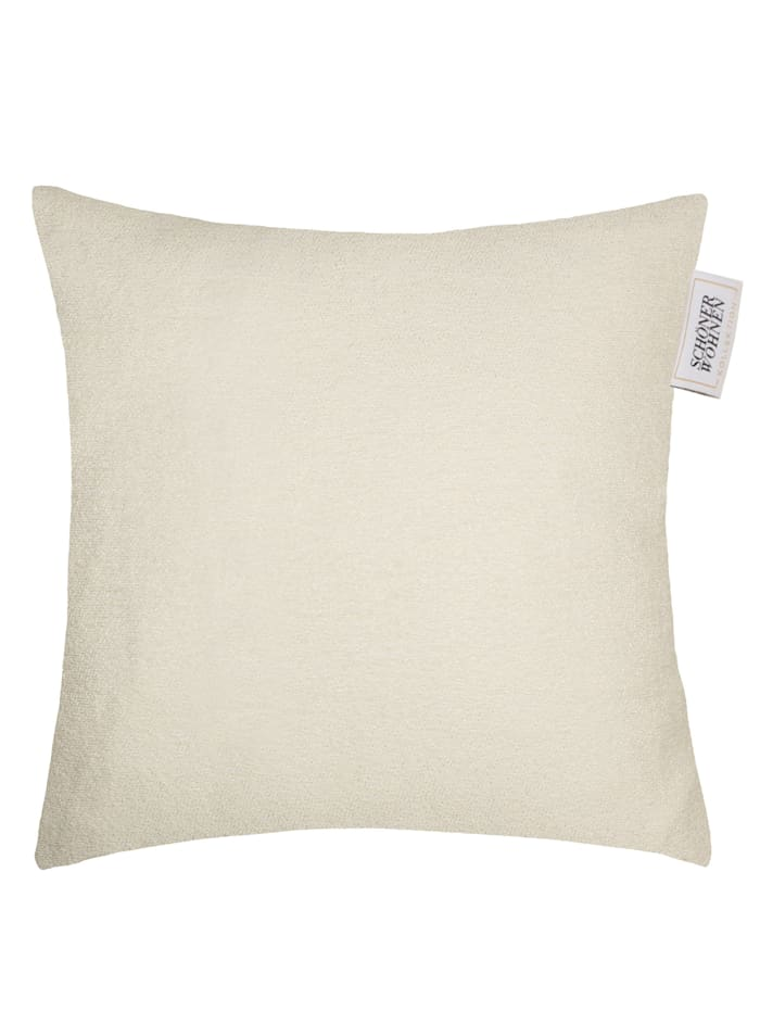 Schöner Wohnen Kollektion Zierkissenhülle 'Softness', Weiß