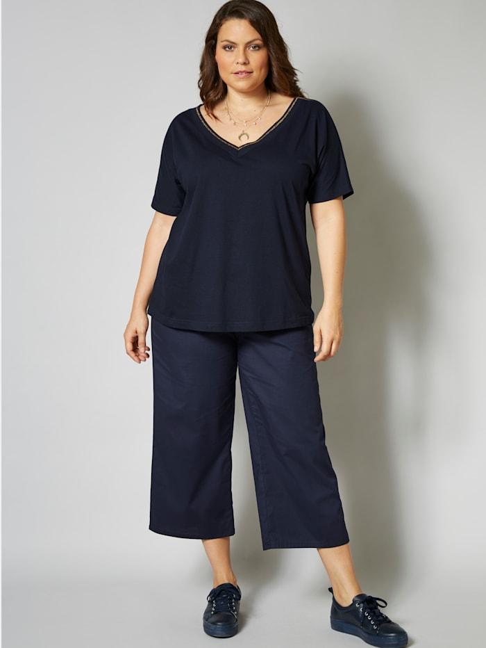 Sara Lindholm Shirt, Marineblau