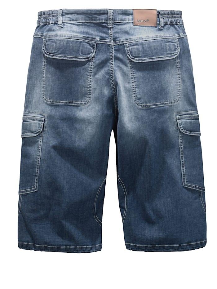 Jeansshorts med flera praktiska fickor