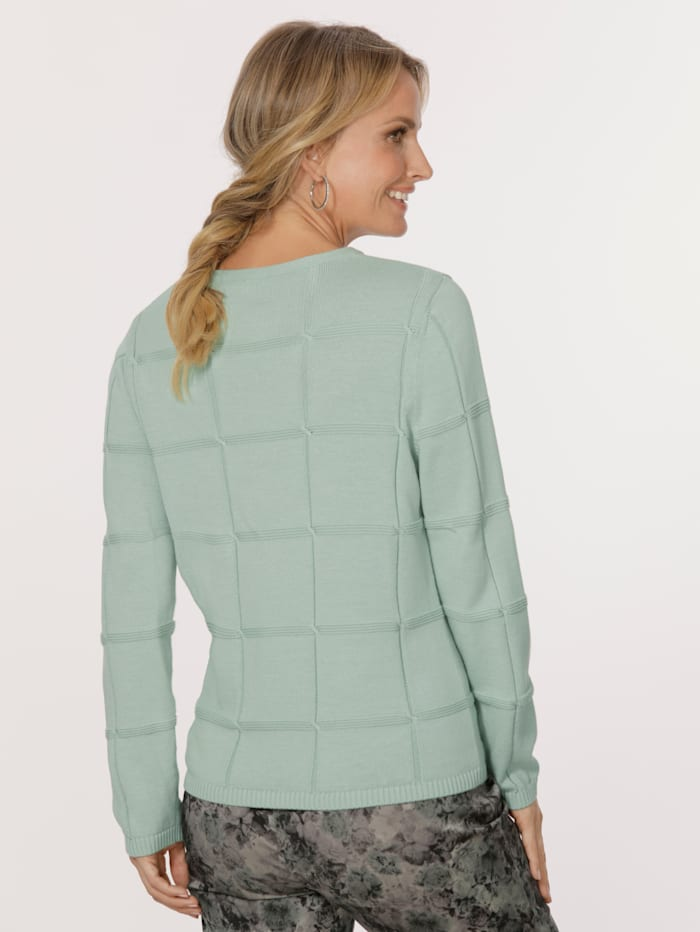Jumper made from pure cotton
