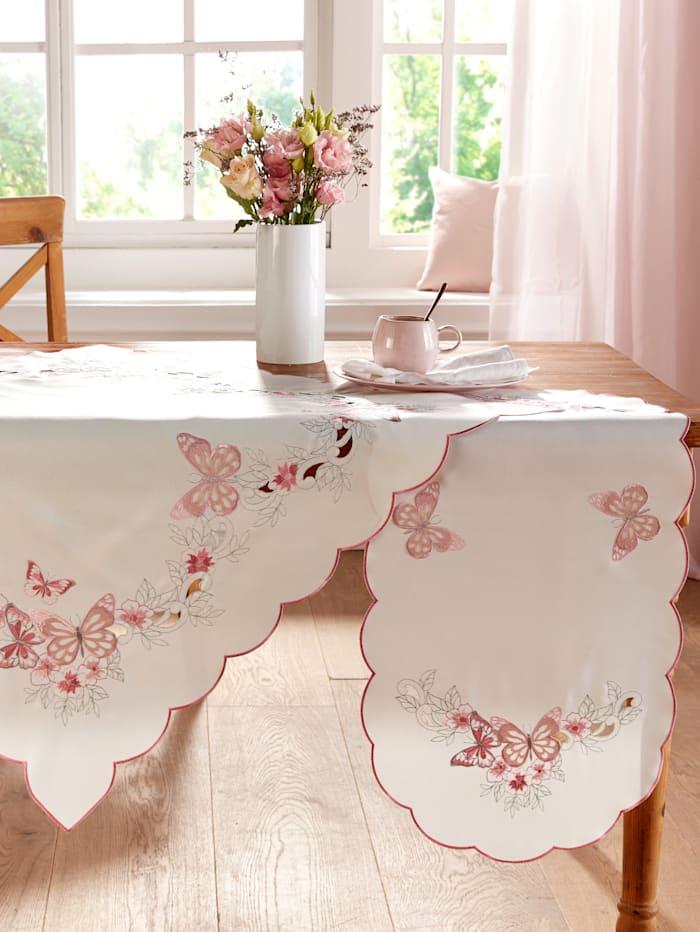 """Webschatz Linge de table """"Lia"""", Champagne/rose"""