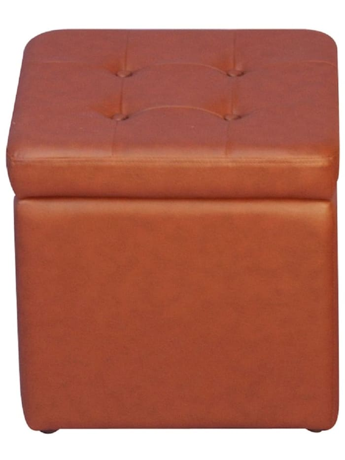 Möbel-Direkt-Online Sitzhocker Hocker mit Stauraum, braun