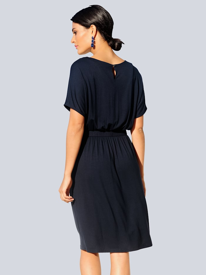 Žerzej šaty ve velmi elastické kvalitě