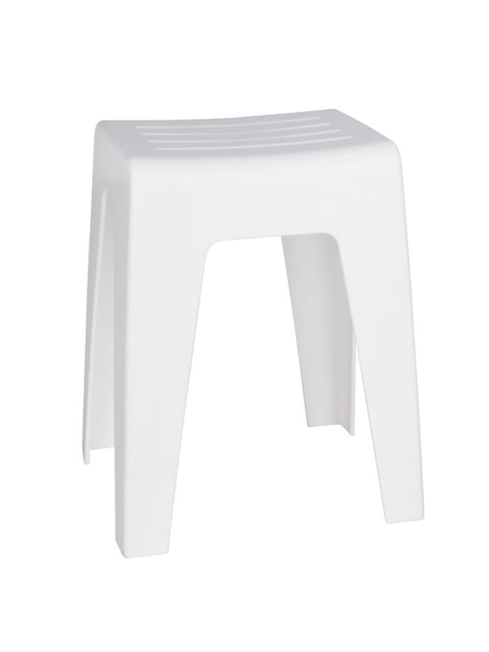 Wenko Badhocker Kumba Weiß, Weiß