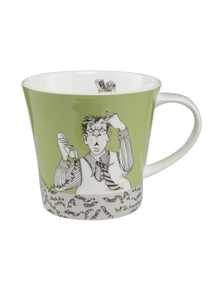 Goebel Goebel Coffee-/Tea Mug Barbara Freundlieb - Montag hat angerufen, Bunt