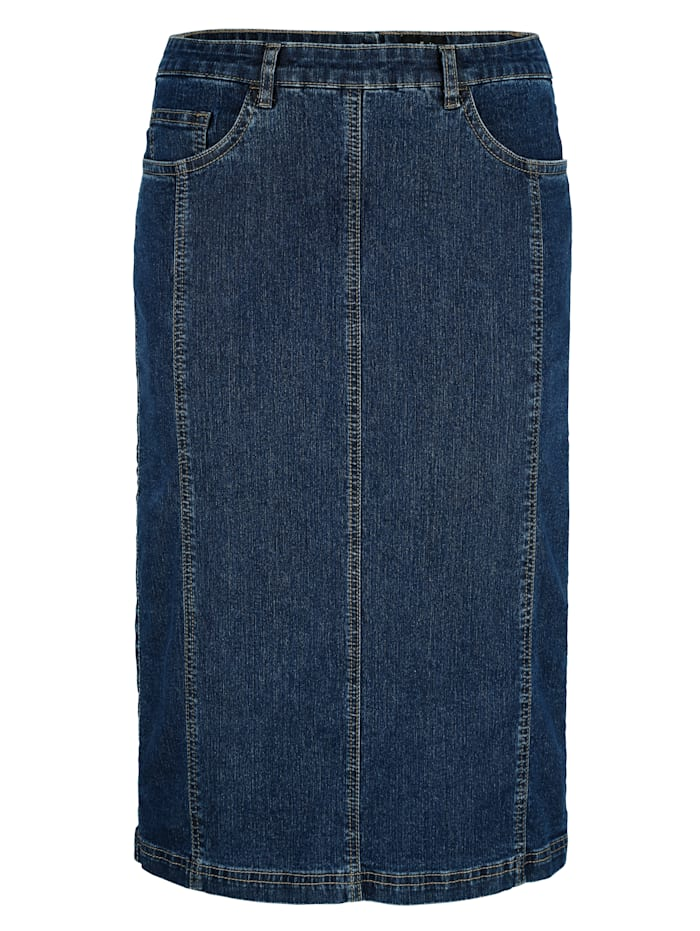 Jeanskjol med fickor