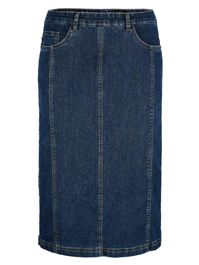 Jupe avec poches côtés