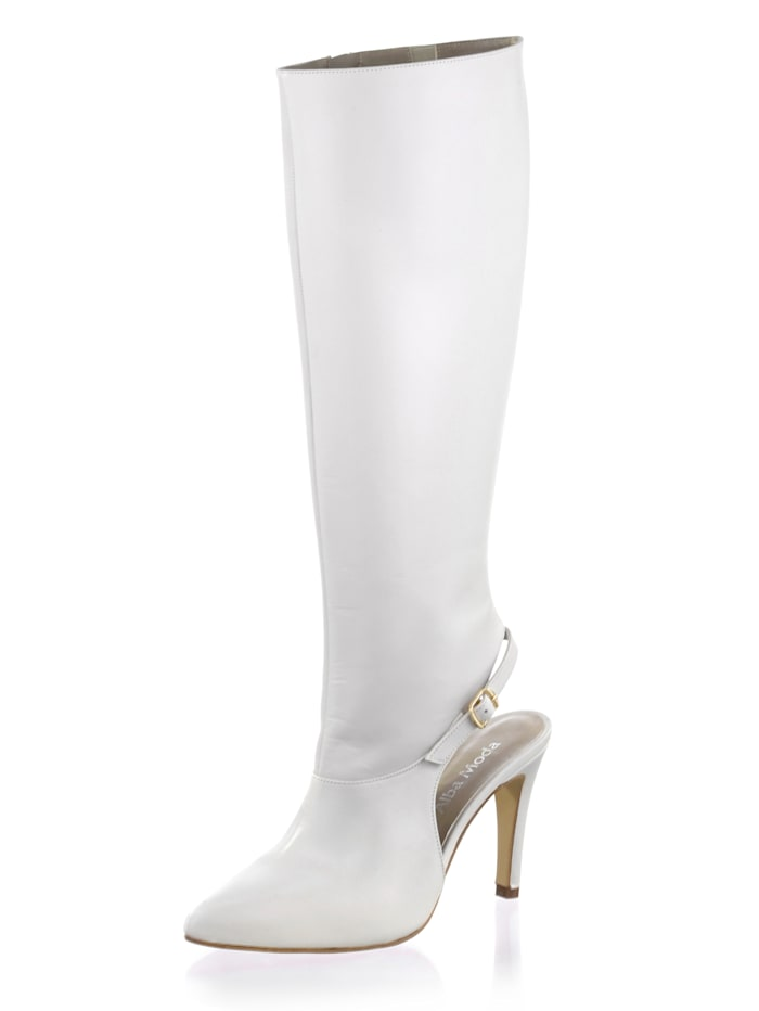 Alba Moda Stiefel als absolutes Modehighlight, Off-white