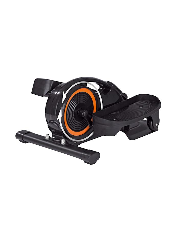 MAXXMEE Entraîneur elliptique/8 niveaux pour un entrainement individuel, Noir