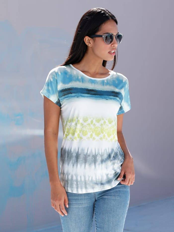 Shirt mit Batik-Druck