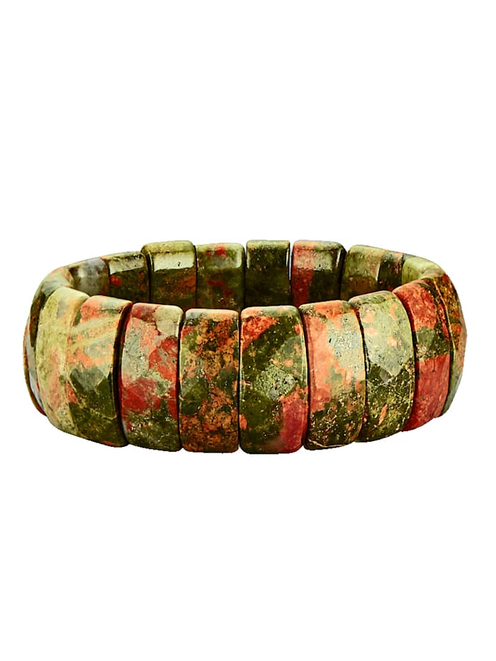 Armband mit Unakit, Multicolor