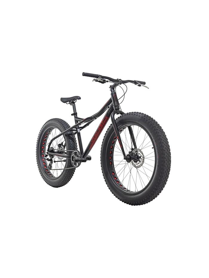 KS Cycling Mountainbike MTB Fatbike SNW2458 schwarz, schwarz