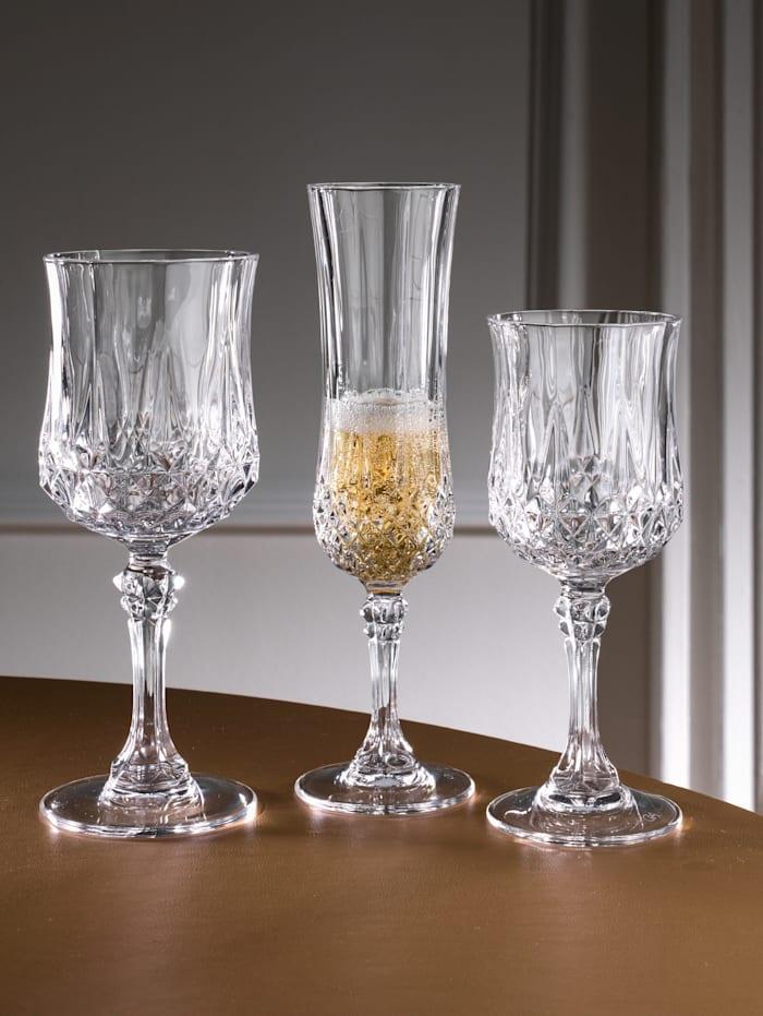 Creatable Set glazen 'Longchamp', Zonder kleur